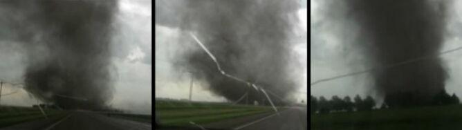 Gonił burzę. Dogonił tornado