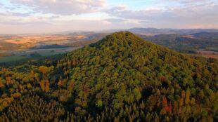 Poznajcie najpiękniejsze wzniesienie wulkaniczne w Polsce