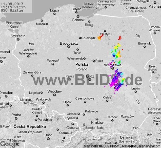 Zobacz, gdzie grzmiało (blids.de)