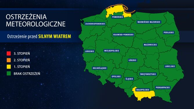 IMGW ostrzega przed sztormem na Bałtyku
