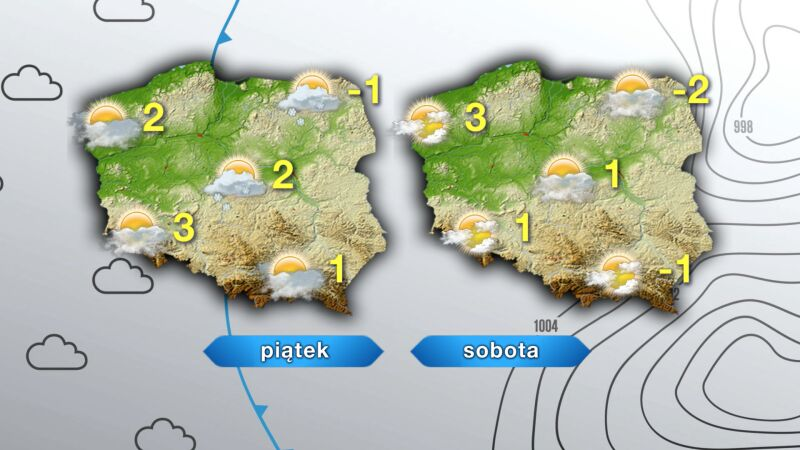 Prognoza pogody w piątek i sobotę