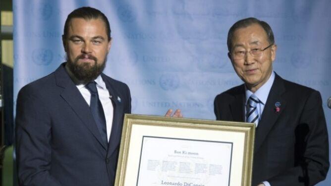 DiCaprio Posłańcem Pokoju ONZ. Ostrzega przed skutkami zmian klimatycznych