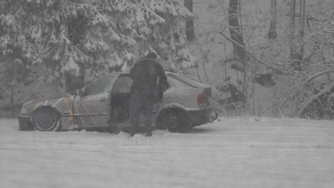 Zima zaatakowała w górach. Zamiecie, na drogach pojawiły się utrudnienia