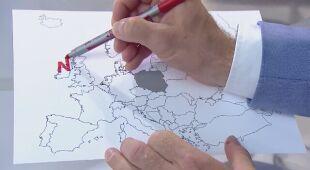 Cztery układy baryczne kształtują pogodę w Europie