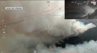 Strażacy walczą z pożarami w Australii